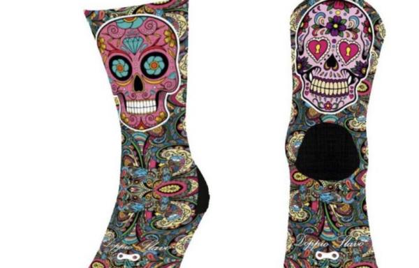 Calcetines Doppio Slavo Calaveras Mexicanas