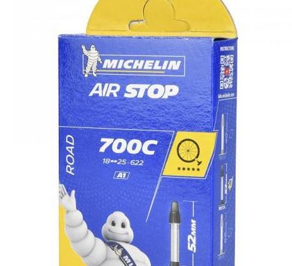 Cámara MICHELIN AIRSTOP  700×18/25c Válvula 52 mm