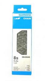 Cadena SHIMANO CN-HG40 6-7-8v 116 Eslabones