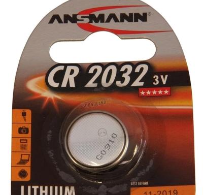 Pila Ansmann CR 2032 – Pila de litio 3V
