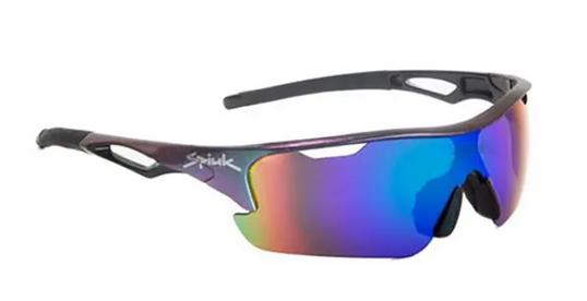 Gafas Spiuk Jifter iridiscente con lentes espejadas