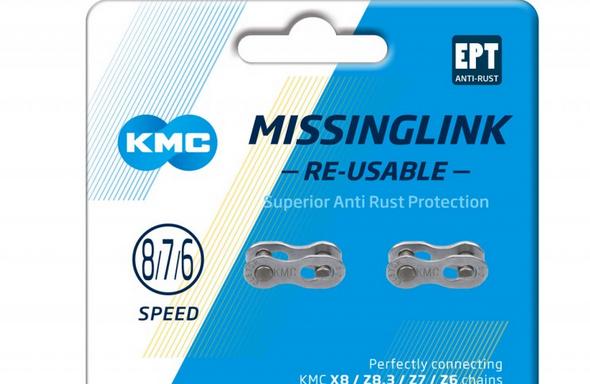 Eslabon rapido KMC MissingLink 8/7/6R EPT